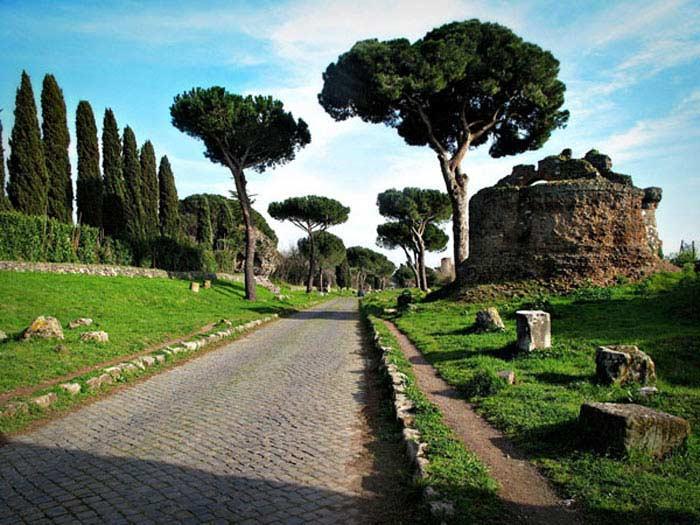 Топ 10 Римских дорог, сохранившихся до наших дней