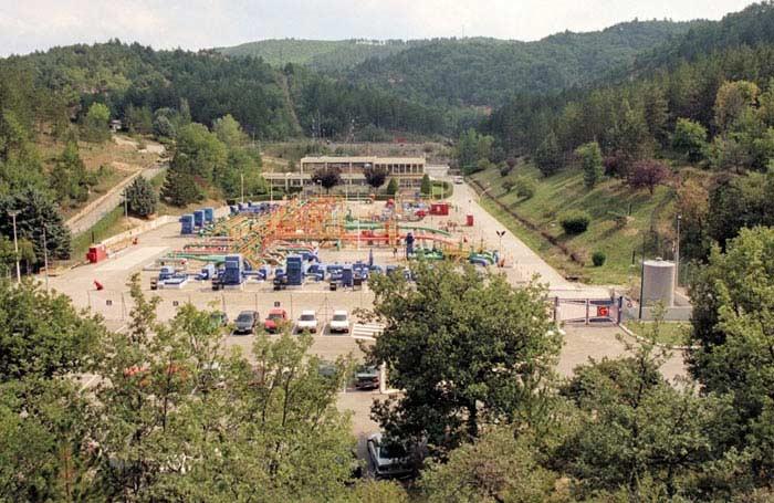 Нефтехранилище в Маноске (Франция)