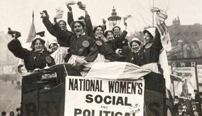 признавшим права женщин на голосование