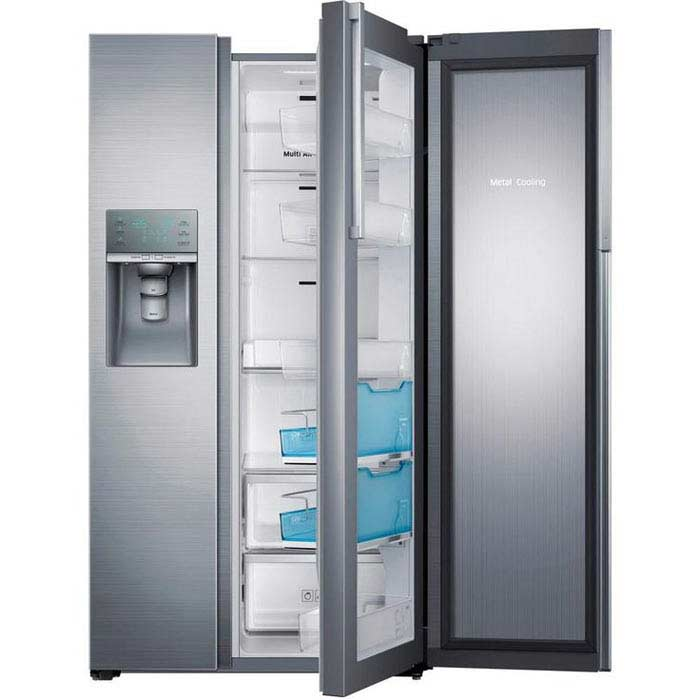 Northland 72″ side-by-side custom refrigerator