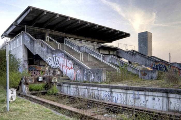 Железнодорожная станция в Мюнхене