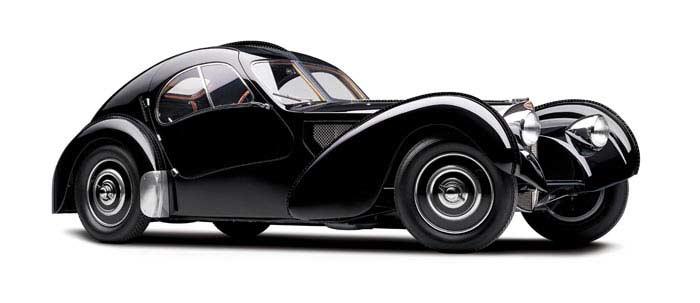 Bugatti Type 57S Atlante 1937 года