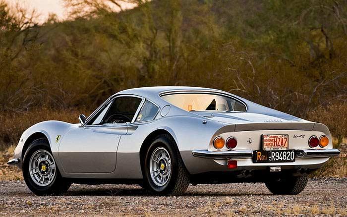 Ferrari Dino 246 GTS 1974 года