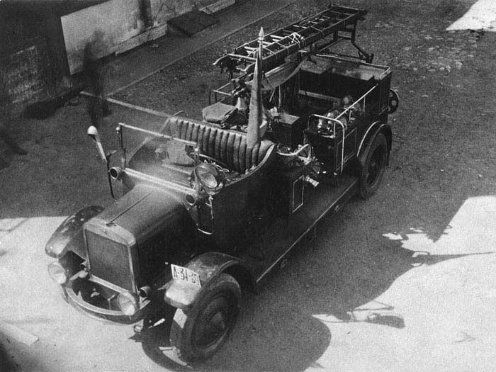 Пожарный автомобиль Я-3