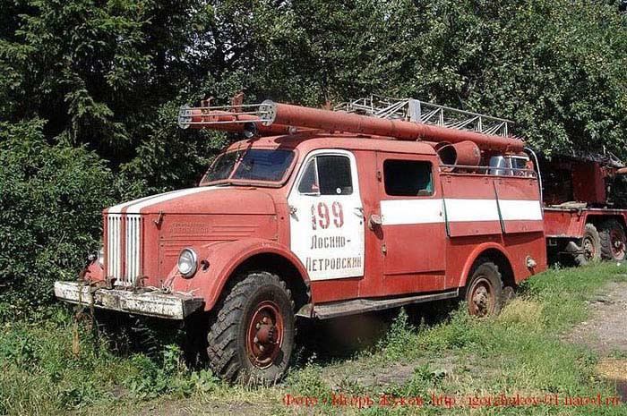 Топ 10 Советских пожарных автомобилей