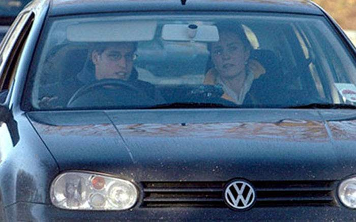VW Golf Кэйт Миддлтон
