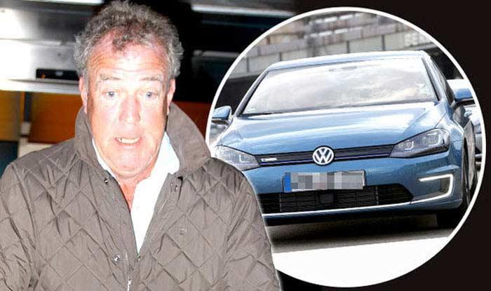 VW Golf Джереми Кларксон