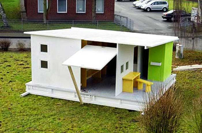 Дом из бумаги