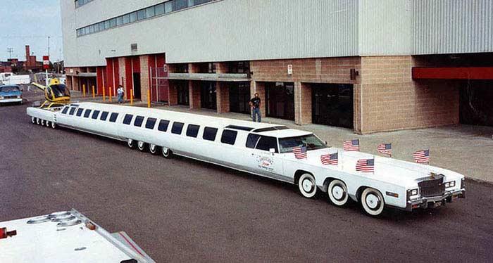 Лимузин «Американская мечта»