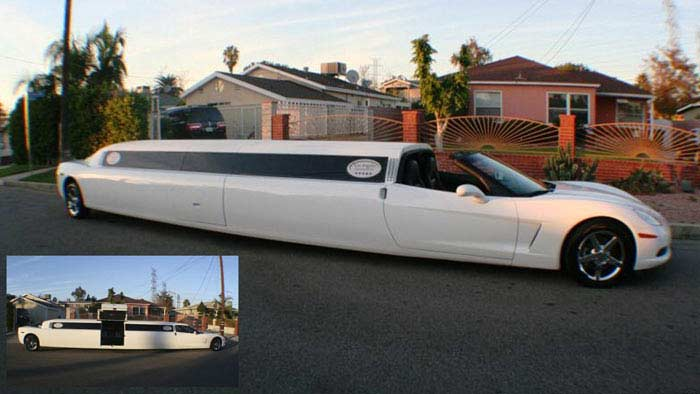 Лимузин Corvette Stretch Limo