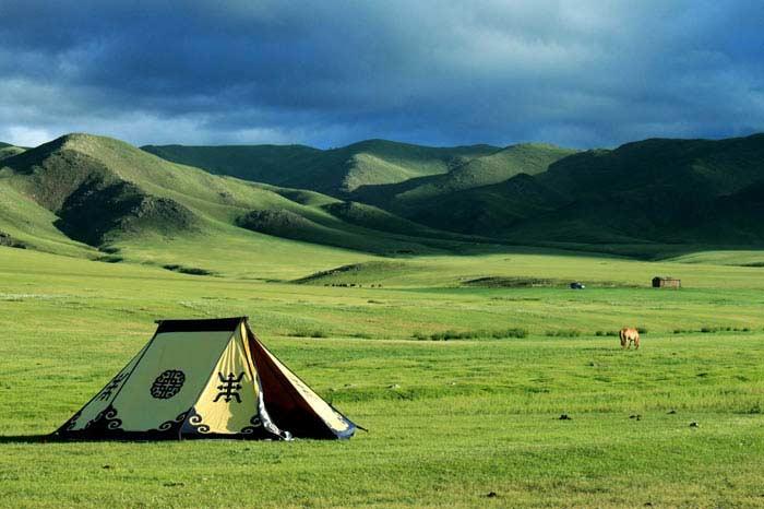 Монголия кочевники