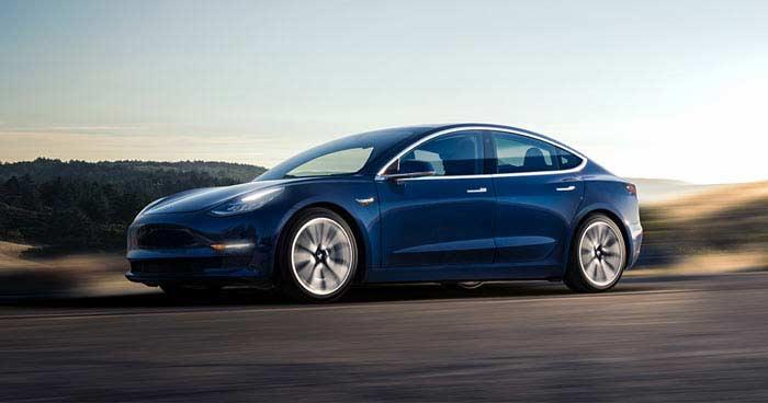 Топ 10 фактов о Tesla model 3