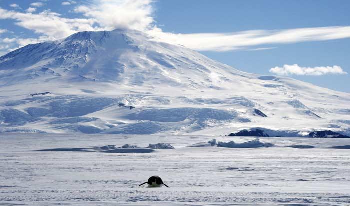 вулканы на Антарктиде