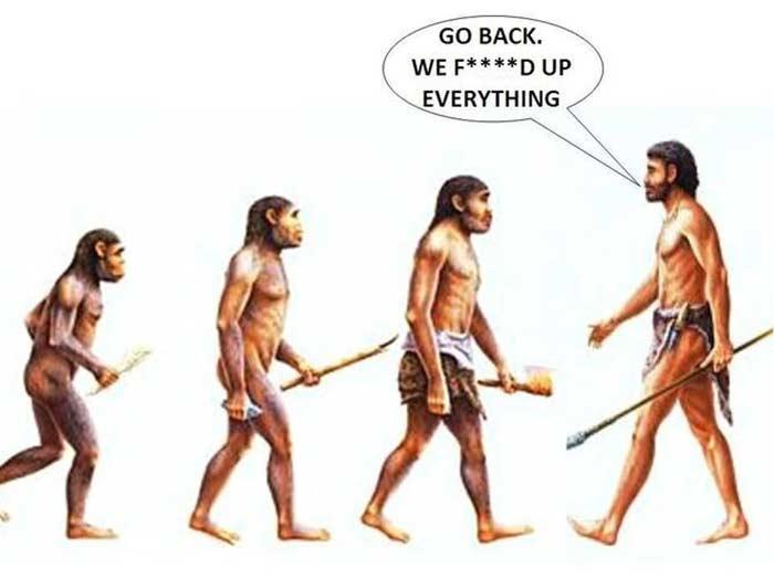Эволюция ускорилась