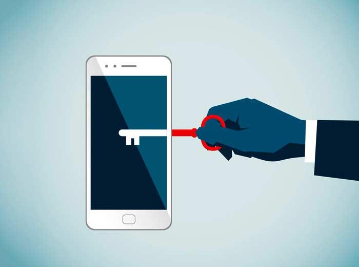 Телефон для паролей