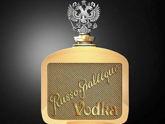 Russo-Baltique Vodka New– $1 350 000