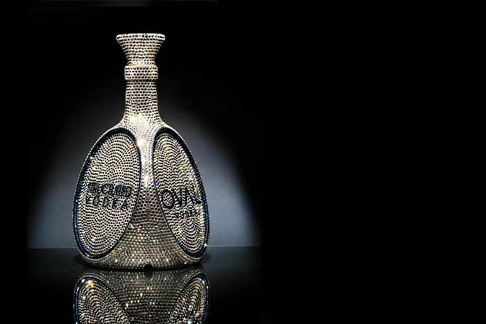 OVAL Swarovski Crystal Vodka – $6 922