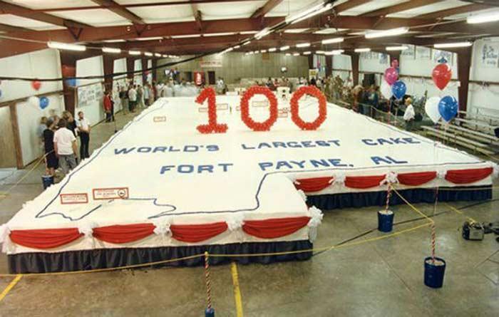 Торт из Алабамы 58 тонн