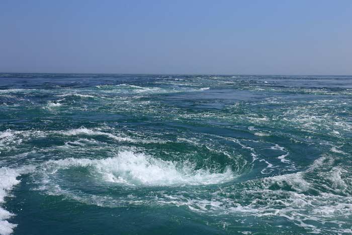 Водовороты в Атлантике