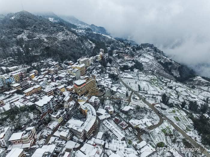 Вьетнам снег