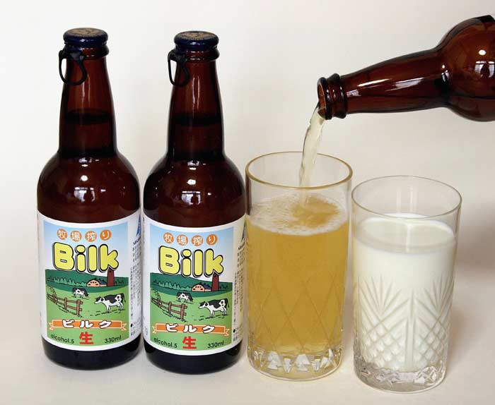 Молочное пиво (билк)