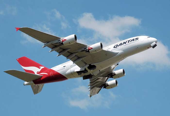 A380 Qantas Airways