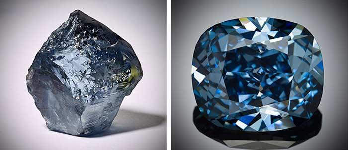 Синие бриллианты