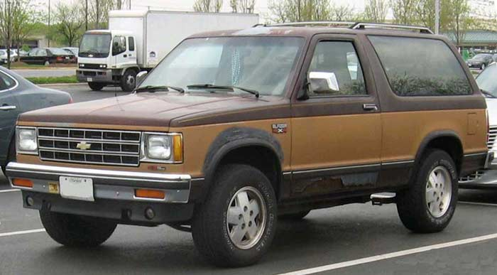 GMC S-15 Jimmy/Chevrolet S-10 Blazer