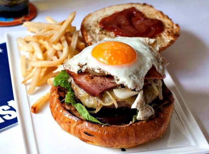 Бургер с добавкой