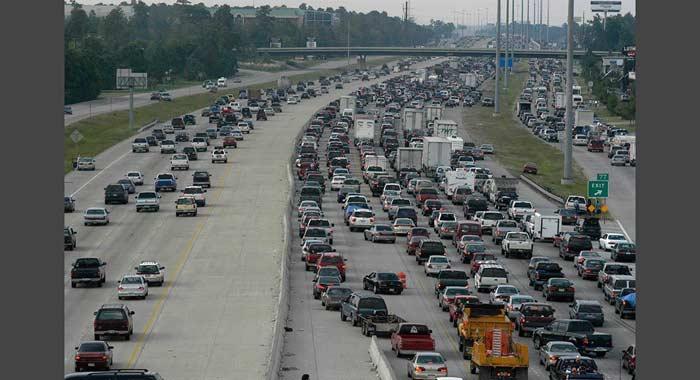 Хьюстон, автомобильная пробка