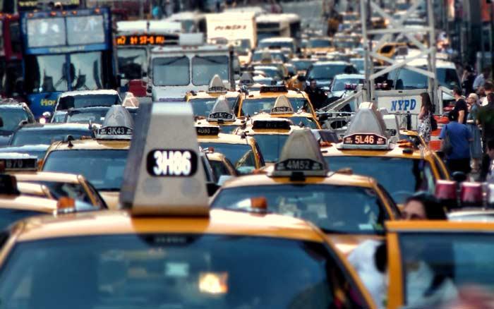 Автострада штата Нью-Йорк, автомобильная пробка