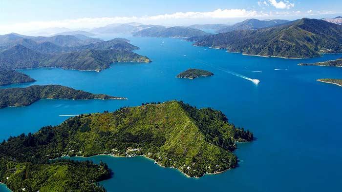 93% континента Зеландия находятся под водой