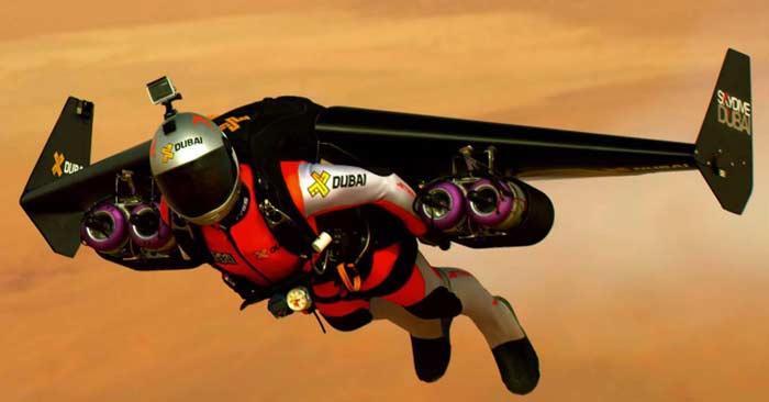 Jetpack Wingsuit