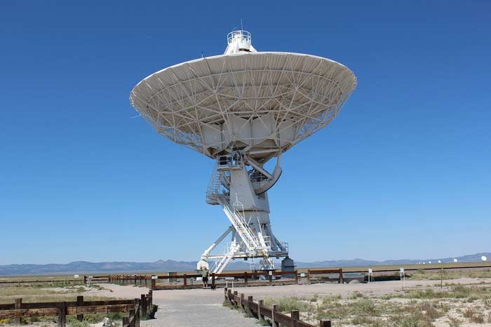 Сверхбольшая антенная решетка VLA