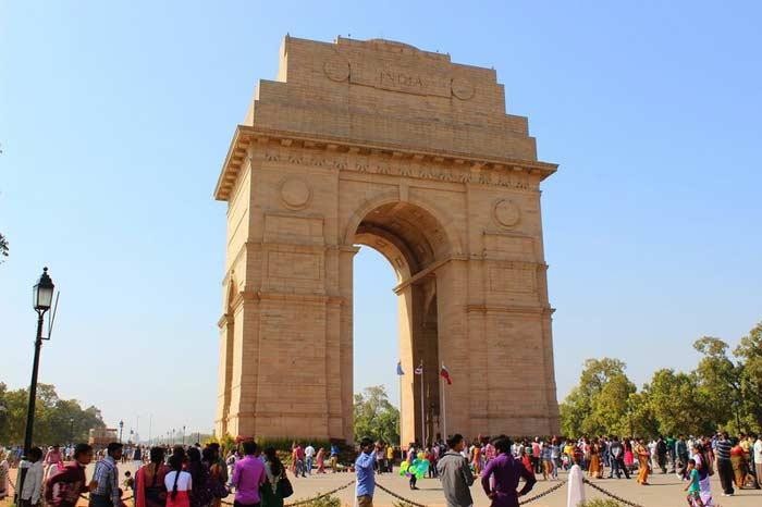 Площадь комплекса Ворота Индии