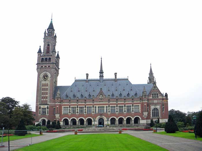 Дворец мира, здание международного суда ООН