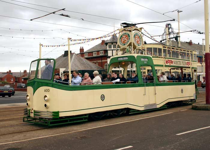 трамваи города Блэкпула
