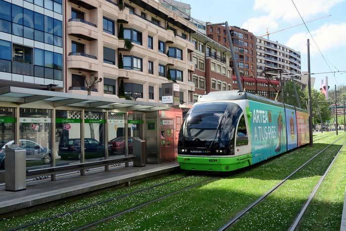 Трамваи в Бильбао