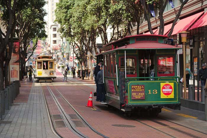 Канатные трамваи в Сан-Франциска