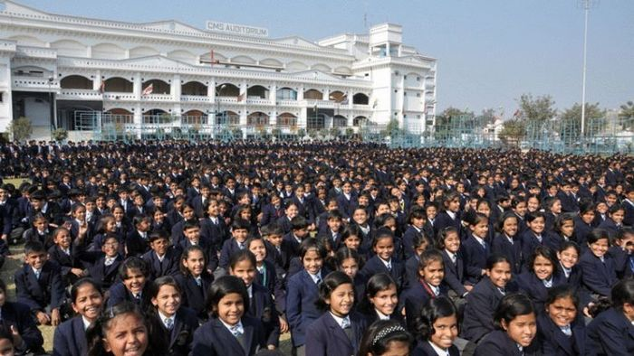 Школа Монтессори. Лакнау. Индия