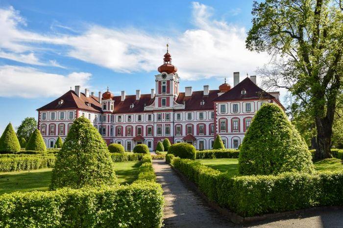 Топ 10 Замков Среднечешского края Чехии