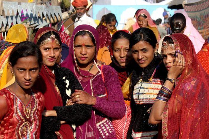 Индия женщины
