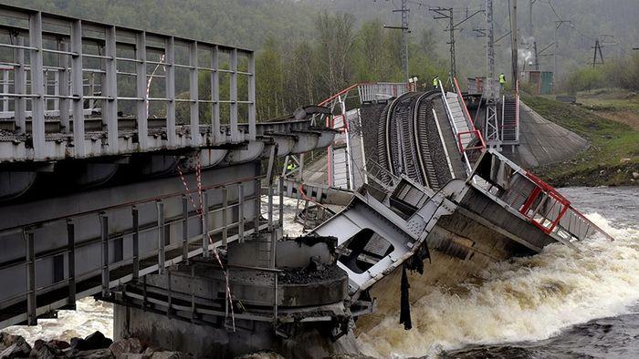 Топ 10 Упавших мостов 2020