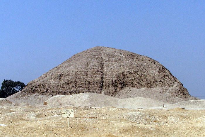 Усыпальница пирамиды в Хаваре