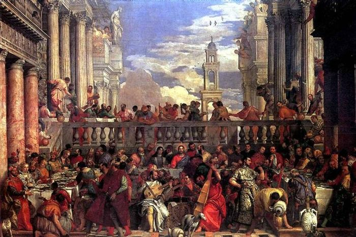 Картина Брак в Кане Галилейской