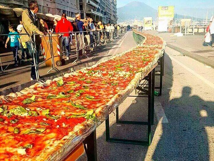 Топ 10 Самых больших пицц в мире